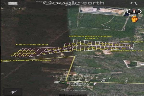 Foto de terreno habitacional en venta en  , caucel, mérida, yucatán, 8422404 No. 02