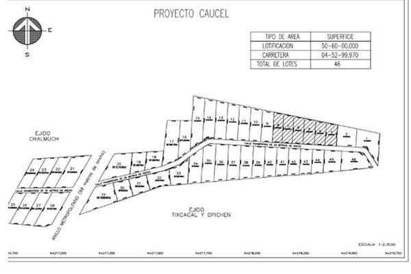 Foto de terreno habitacional en venta en  , caucel, mérida, yucatán, 8422404 No. 03