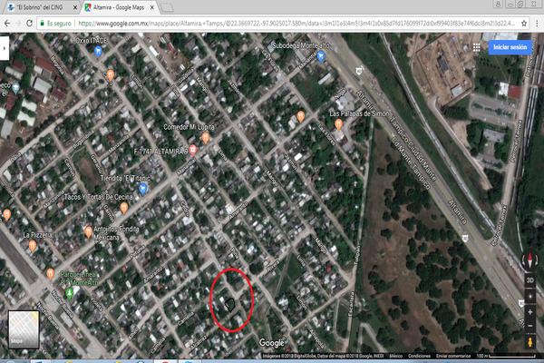 Foto de terreno habitacional en venta en cedro , monte alto, altamira, tamaulipas, 5683168 No. 03