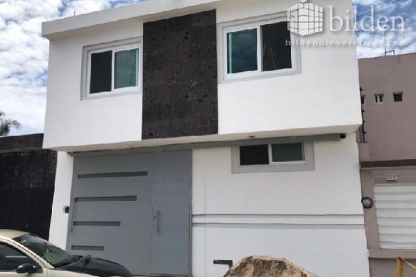 Foto de casa en venta en cedros 100, fraccionamiento las quebradas, durango, durango, 5905803 No. 01