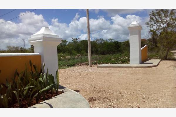 Foto de terreno habitacional en venta en centro 39, izamal, izamal, yucatán, 5307284 No. 02