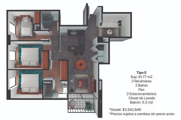 Foto de departamento en venta en  , centro industrial tlalnepantla, tlalnepantla de baz, méxico, 12265750 No. 10