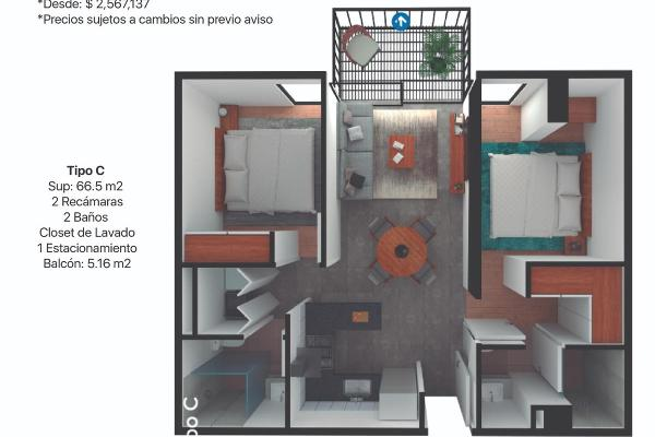 Foto de departamento en venta en  , centro industrial tlalnepantla, tlalnepantla de baz, méxico, 12265750 No. 11