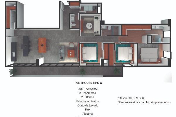 Foto de departamento en venta en  , centro industrial tlalnepantla, tlalnepantla de baz, méxico, 12265774 No. 05