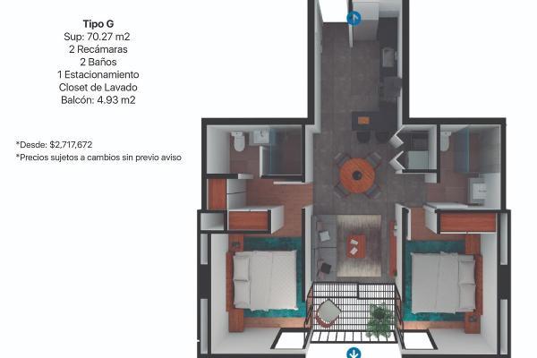 Foto de departamento en venta en  , centro industrial tlalnepantla, tlalnepantla de baz, méxico, 12265774 No. 09