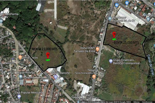 Foto de terreno habitacional en renta en  , centro jiutepec, jiutepec, morelos, 7962403 No. 01