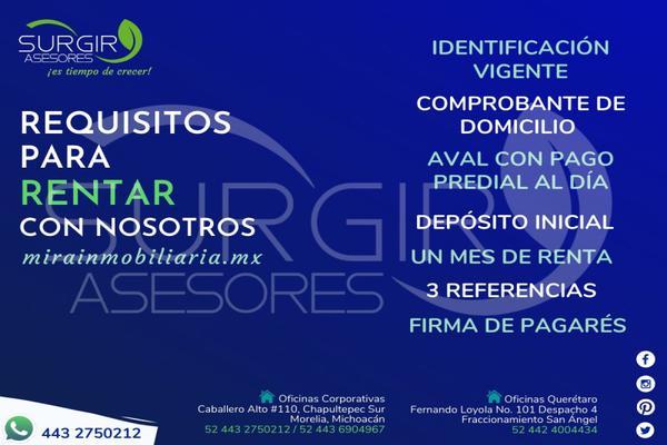 Foto de departamento en renta en centro , morelia centro, morelia, michoacán de ocampo, 16946765 No. 07