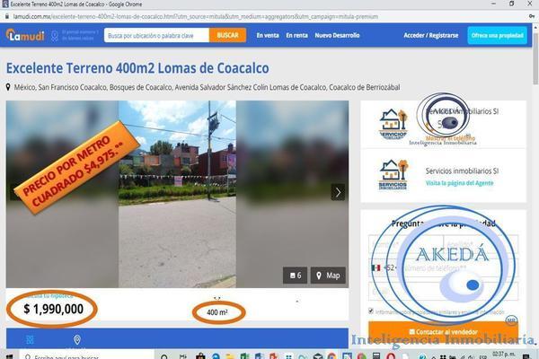 Foto de terreno industrial en venta en cerca colegio cum coacalco , república mexicana, coacalco de berriozábal, méxico, 16359592 No. 11