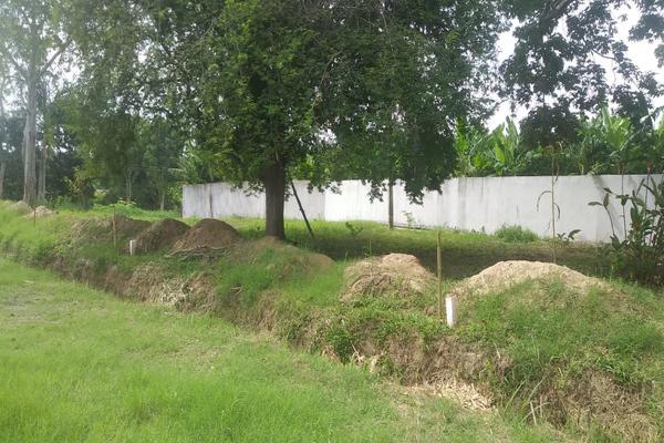 Foto de terreno habitacional en venta en cerrada barco , el dorado, nacajuca, tabasco, 8385484 No. 03