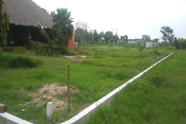 Foto de terreno habitacional en venta en cerrada barco , el dorado, nacajuca, tabasco, 8385484 No. 04