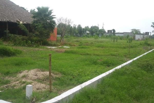 Foto de terreno habitacional en venta en cerrada barco , el carmen, nacajuca, tabasco, 8385484 No. 04