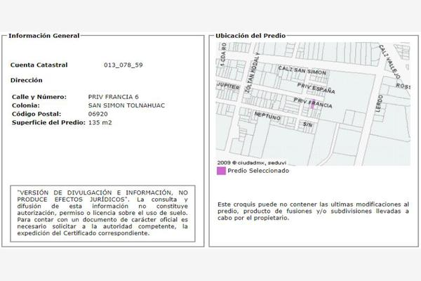 Foto de casa en venta en cerrada de francia 0, san simón tolnahuac, cuauhtémoc, df / cdmx, 20127982 No. 07