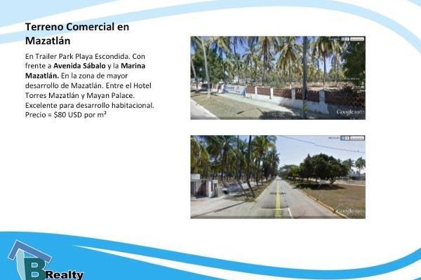 Foto de terreno comercial en venta en  , cerritos resort, mazatlán, sinaloa, 3046399 No. 02