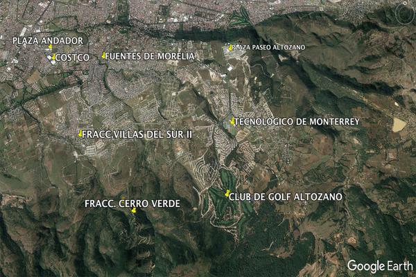 Foto de terreno habitacional en venta en  , cerro verde, morelia, michoacán de ocampo, 5893784 No. 04