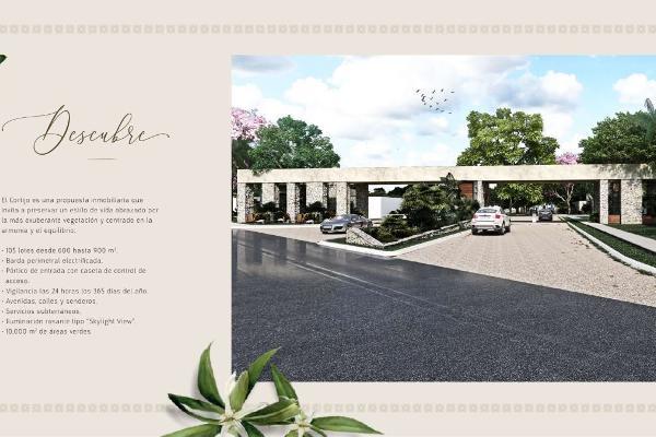 Foto de terreno habitacional en venta en  , chablekal, mérida, yucatán, 14038884 No. 01
