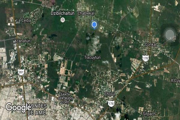 Foto de terreno habitacional en venta en  , chablekal, mérida, yucatán, 7860626 No. 03