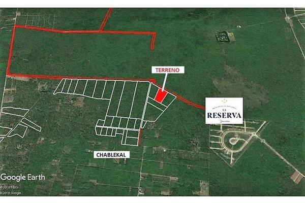 Foto de terreno habitacional en venta en  , chablekal, mérida, yucatán, 8067823 No. 02