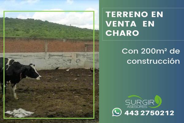Foto de terreno habitacional en venta en  , charo, charo, michoacán de ocampo, 13309467 No. 03