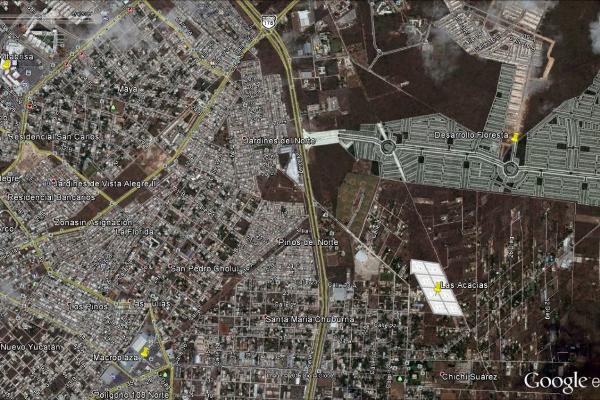Foto de terreno habitacional en venta en  , chichi suárez, mérida, yucatán, 6124369 No. 04