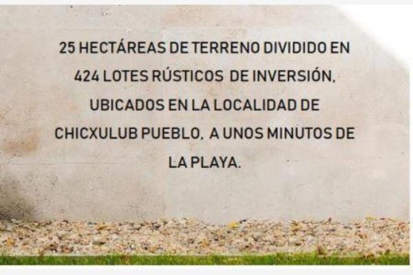 Foto de terreno habitacional en venta en chicxulub chicxulub, chicxulub puerto, progreso, yucatán, 5811711 No. 03