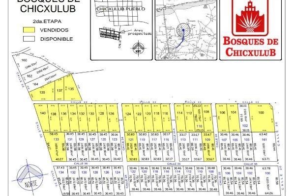 Foto de terreno habitacional en venta en  , chicxulub, chicxulub pueblo, yucatán, 3138057 No. 01