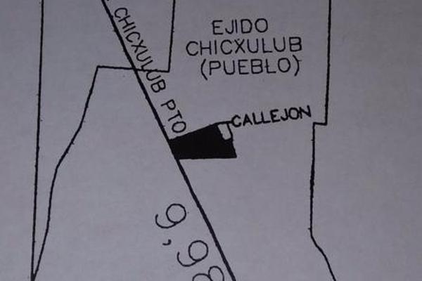 Foto de terreno habitacional en venta en  , chicxulub, chicxulub pueblo, yucatán, 7860437 No. 01