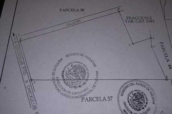 Foto de terreno habitacional en venta en  , chicxulub, chicxulub pueblo, yucatán, 7860437 No. 02