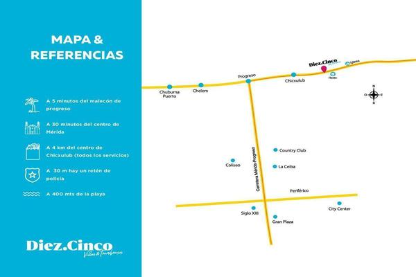 Foto de casa en venta en  , chicxulub puerto, progreso, yucatán, 14038918 No. 02