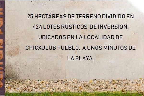 Foto de terreno habitacional en venta en  , chicxulub puerto, progreso, yucatán, 8100010 No. 05