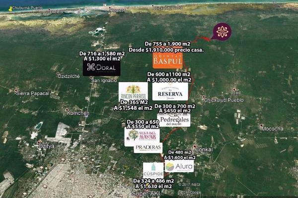 Foto de terreno habitacional en venta en  , chicxulub, chicxulub pueblo, yucatán, 8100977 No. 04