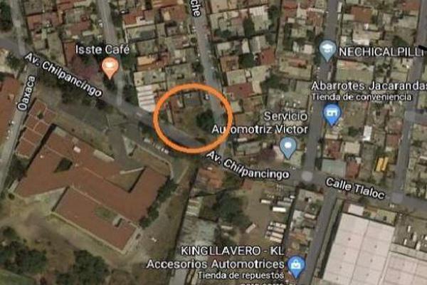 Foto de terreno habitacional en venta en chilpancingo s/n , valle ceylán, tlalnepantla de baz, méxico, 17708857 No. 01