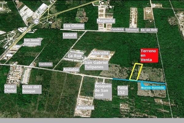 Foto de terreno habitacional en venta en  , cholul, mérida, yucatán, 13472227 No. 14
