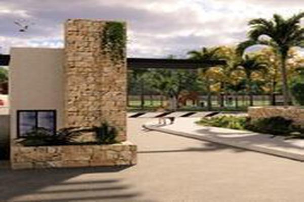 Foto de terreno habitacional en venta en  , cholul, mérida, yucatán, 14026171 No. 01