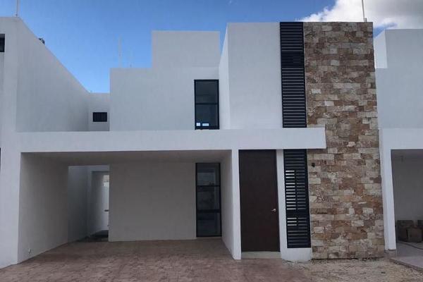 Foto de casa en venta en  , cholul, mérida, yucatán, 14026183 No. 01