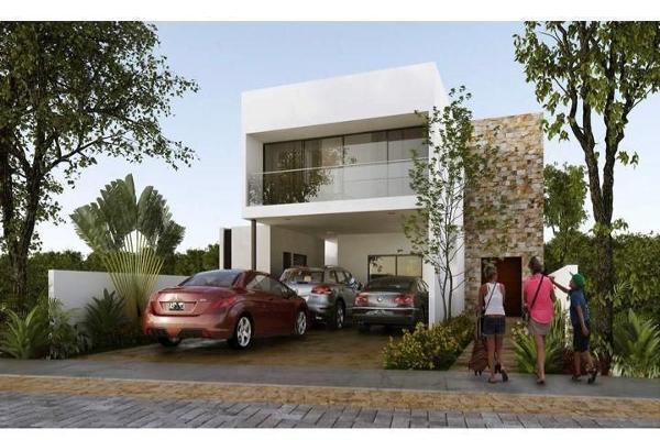 Foto de casa en venta en  , cholul, mérida, yucatán, 14026203 No. 01
