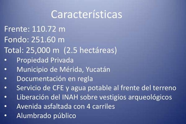 Foto de terreno habitacional en venta en  , cholul, mérida, yucatán, 14027442 No. 06