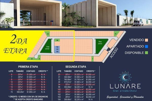 Foto de terreno habitacional en venta en  , cholul, mérida, yucatán, 14027462 No. 06
