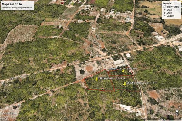 Foto de terreno habitacional en venta en  , cholul, mérida, yucatán, 18248201 No. 02
