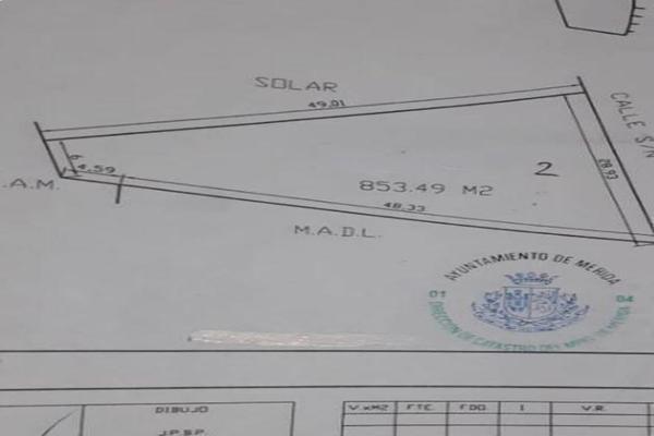 Foto de terreno habitacional en venta en  , cholul, mérida, yucatán, 18248201 No. 03