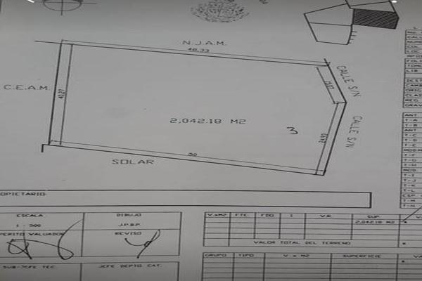 Foto de terreno habitacional en venta en  , cholul, mérida, yucatán, 18248201 No. 04