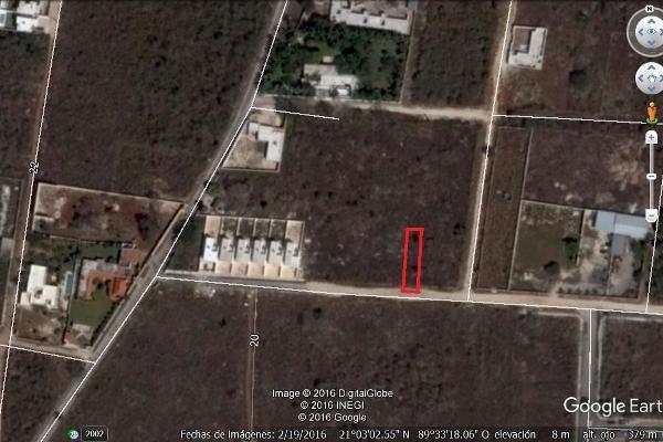 Foto de terreno habitacional en venta en  , cholul, mérida, yucatán, 3059756 No. 01
