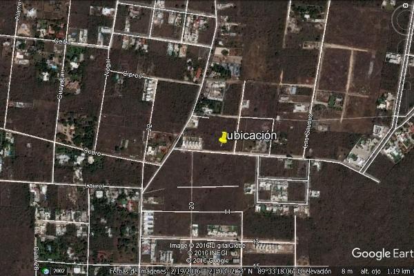 Foto de terreno habitacional en venta en  , cholul, mérida, yucatán, 3059756 No. 02