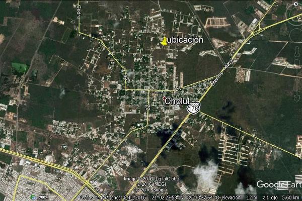 Foto de terreno habitacional en venta en  , cholul, mérida, yucatán, 3059756 No. 03