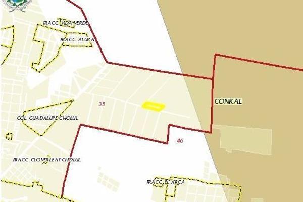 Foto de terreno habitacional en venta en  , cholul, mérida, yucatán, 3066050 No. 03