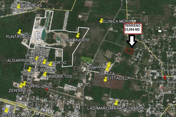 Foto de terreno habitacional en venta en  , cholul, mérida, yucatán, 3674799 No. 01