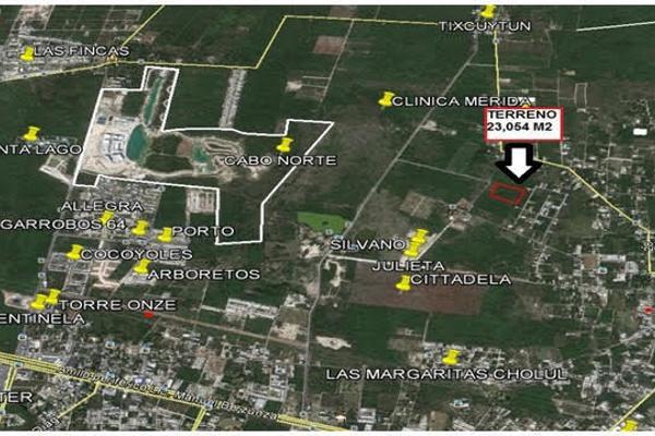 Foto de terreno habitacional en venta en  , cholul, mérida, yucatán, 3674799 No. 02