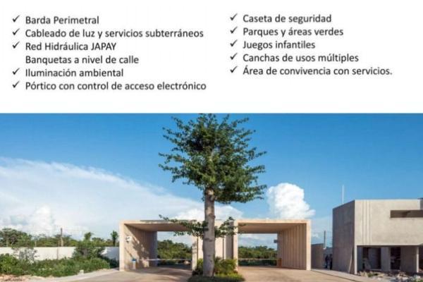 Foto de terreno habitacional en venta en  , cholul, mérida, yucatán, 5676776 No. 02