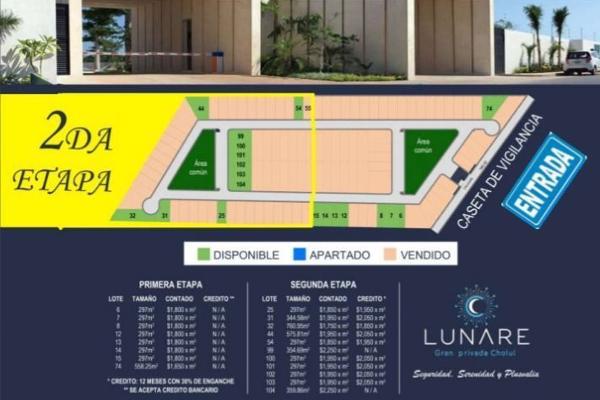 Foto de terreno habitacional en venta en  , cholul, mérida, yucatán, 5676776 No. 04