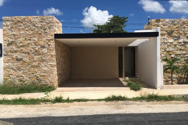 Foto de casa en venta en  , cholul, mérida, yucatán, 5677351 No. 01