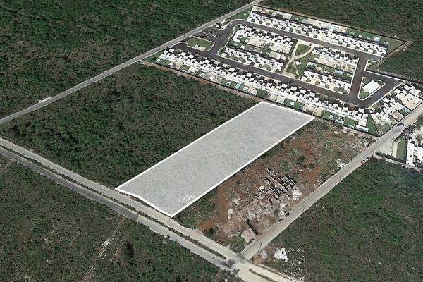 Foto de terreno habitacional en venta en  , cholul, mérida, yucatán, 5805161 No. 01